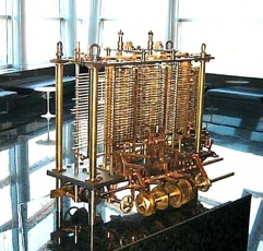 The Babbage Analytical Engine as a replica